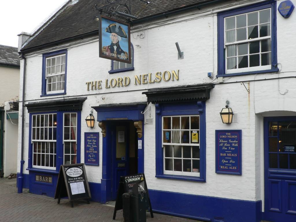The Lord Nelson At Hythe