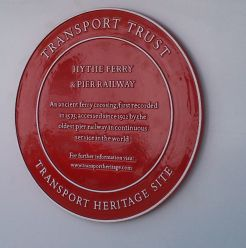 Transport Trust Red Wheel Award